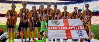 Boston United under-12s thankful for Barcelona trip support!