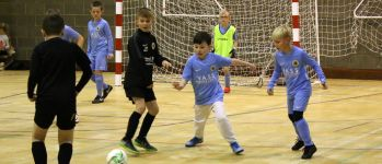Over 70 Boston United players take part in Futsal Day