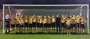 Boston United youngsters face Liverpool