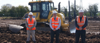 United 3G pitch construction begins