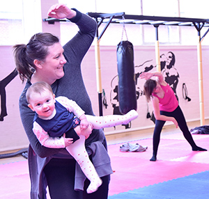 Exercise for new mums