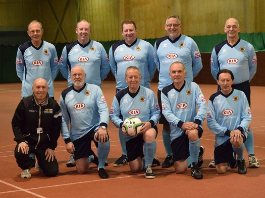 walking football over 45's