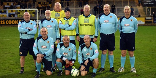 Boston United walking football tournament