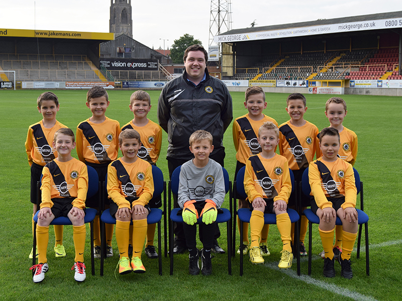 BUCFC Under-9s - Listers Mini