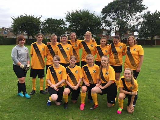 Boston United Ladies Team