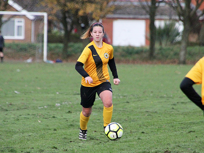 Hope Harold - Boston United Ladies football team