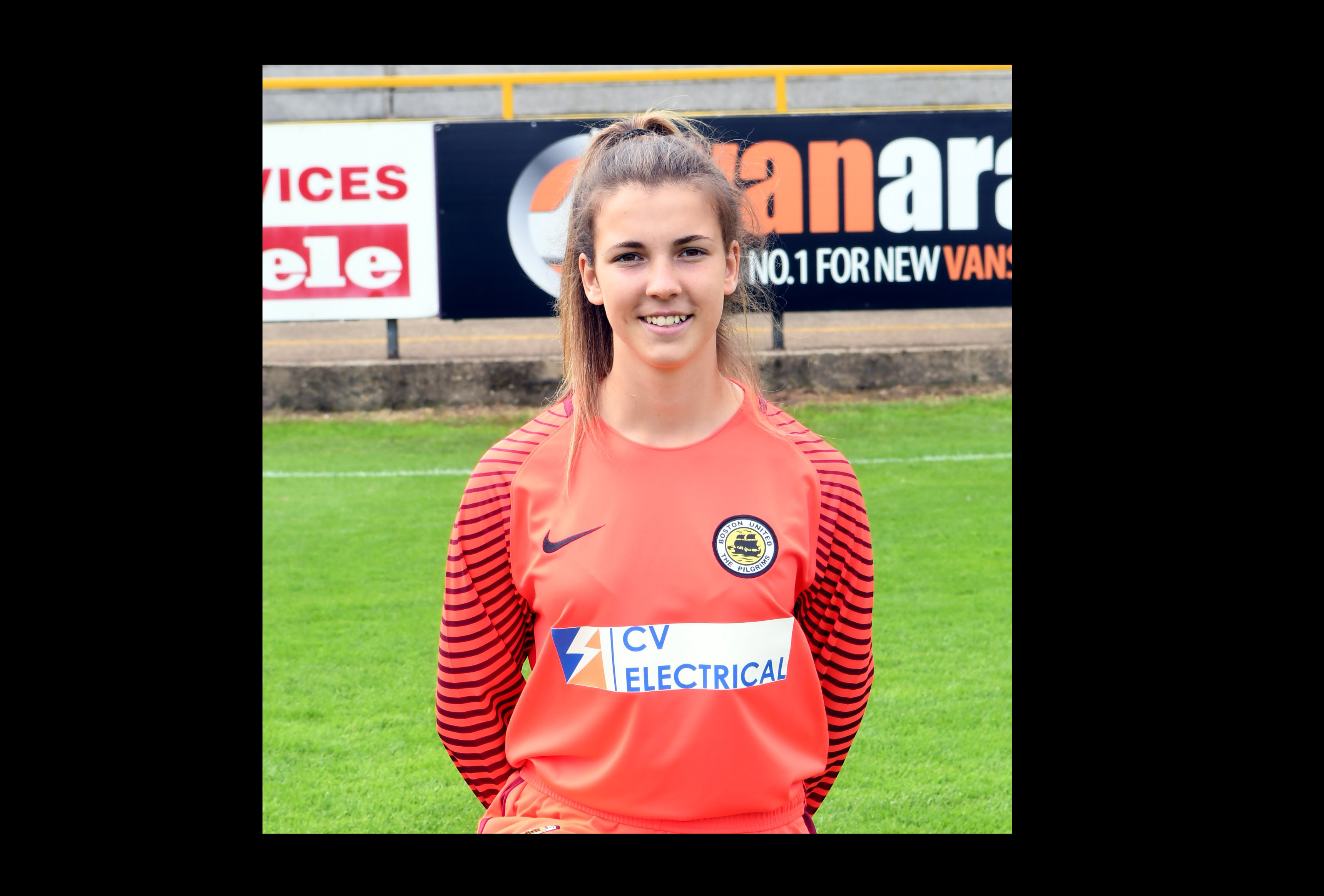 Olivia Clark - Boston United ladies football club