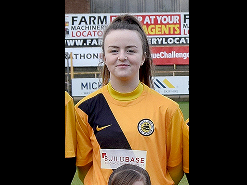 Jess Edwards - Boston United Girls RTC