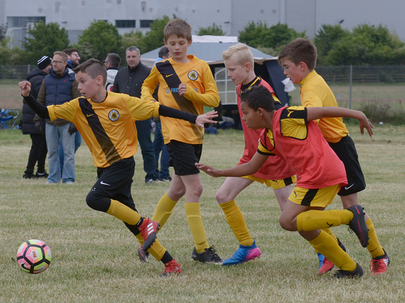Boston United Football Academy - football trials for Under 13 to Under 16 teams.