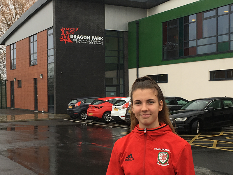 Olivia Clark - FA Wales and Boston United Girls RTC / Ladies