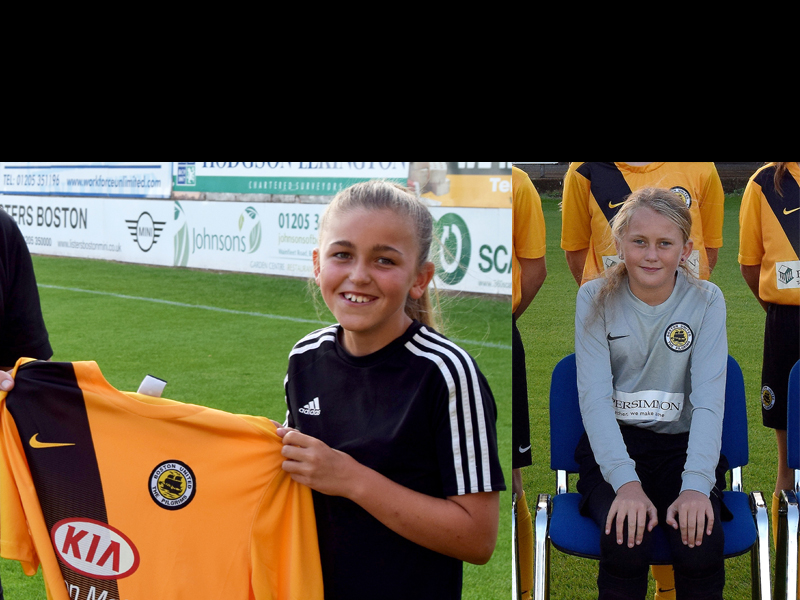 Ava and Deanna - Boston United Girls RTC