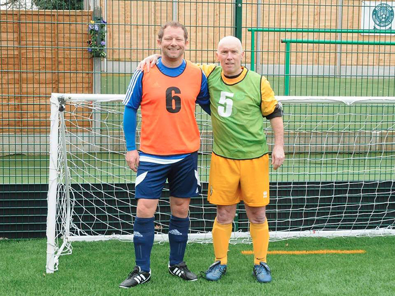 Dave and Martyn - Boston United walking football