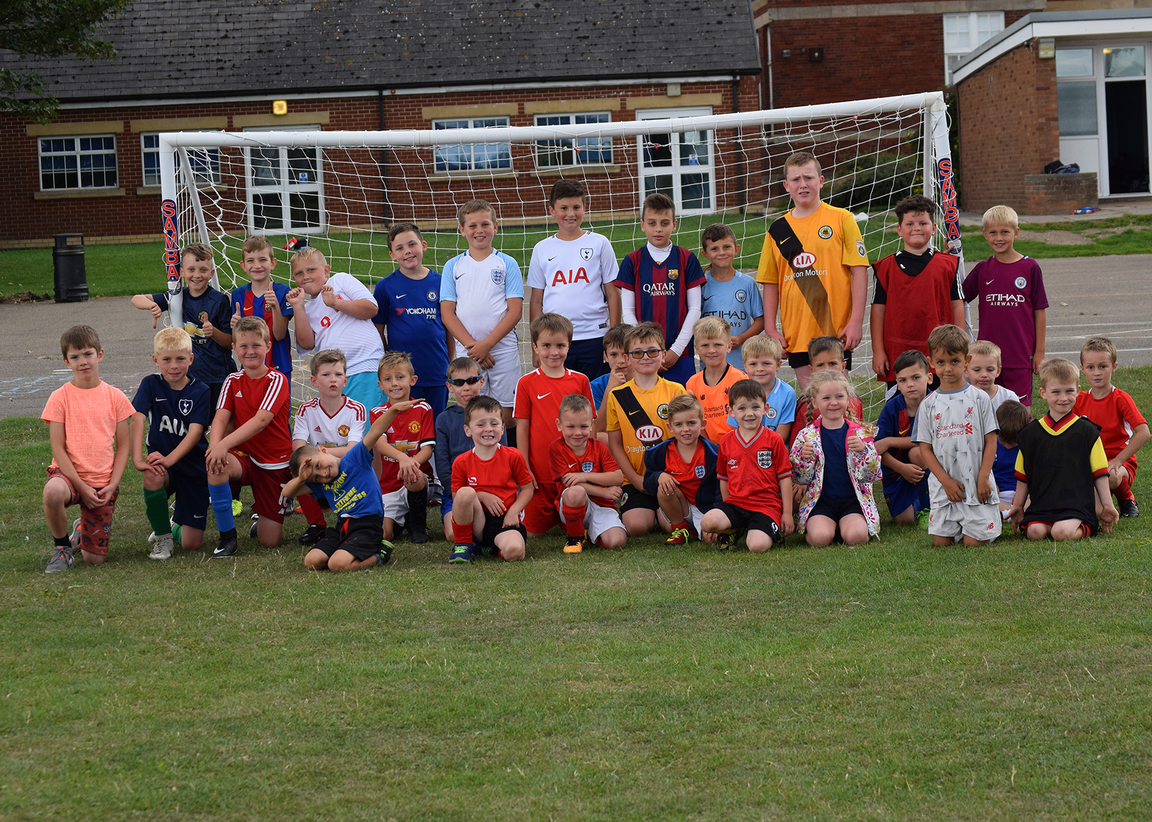 Boston United football fun day