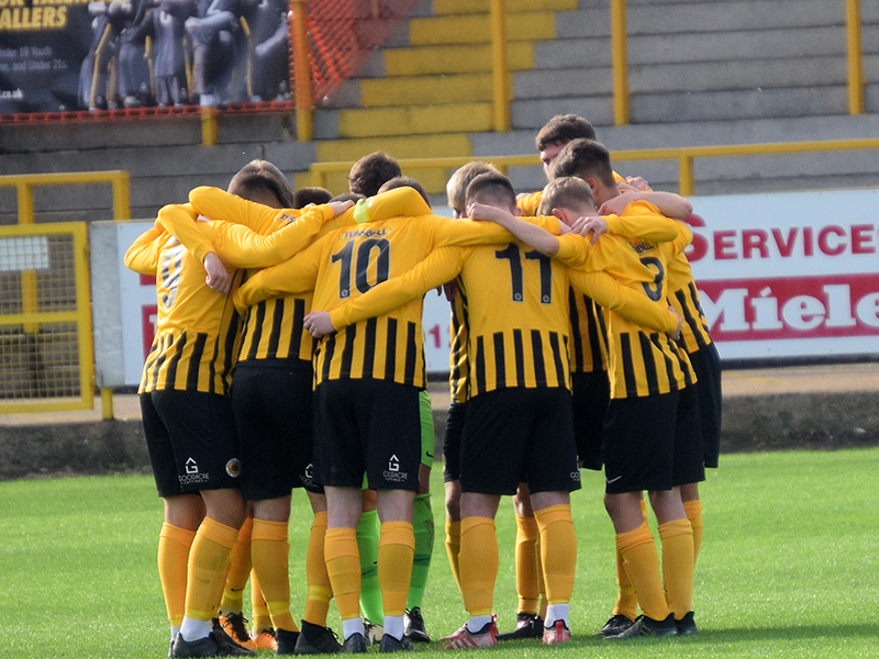 Boston United U19 Youth squad