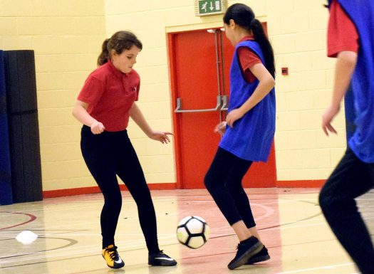 Boston United Community Foundation - womens and girls football