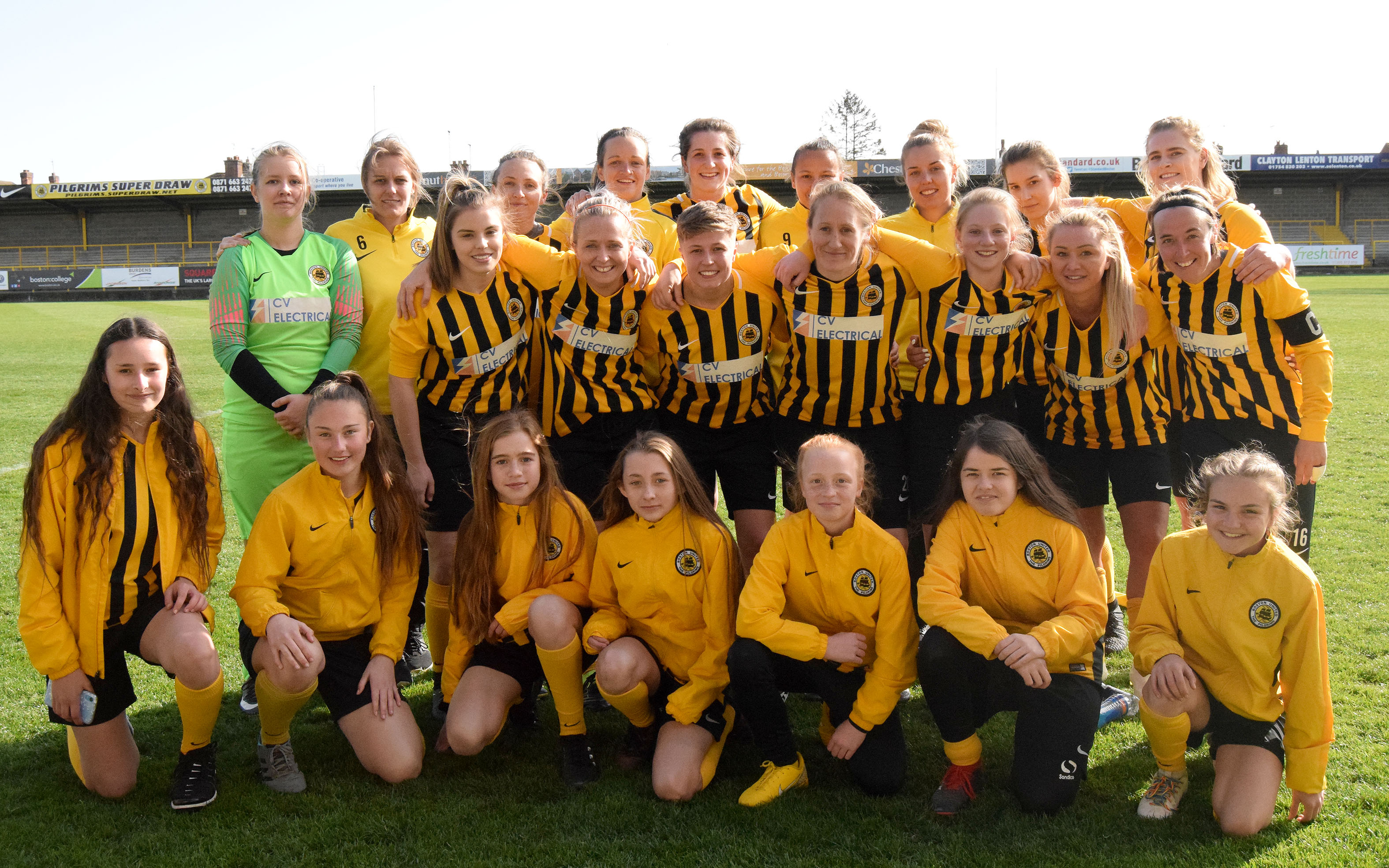 Boston United Girls and Ladies football
